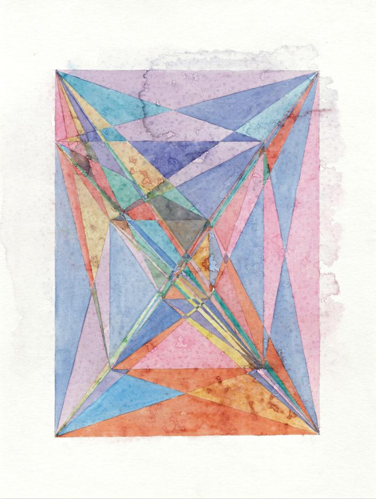 untitled, 2019, watercolour, 48 x 36 cm